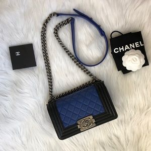 CHANEL Small Boy bag limited Edition.